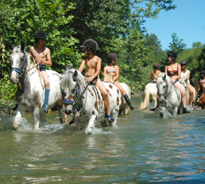 Horse-riding in Languedoc